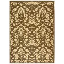 Courtyard Chocolate / Natural Outdoor Rug