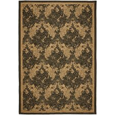 Courtyard Black Outdoor Rug