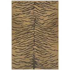 <strong>Safavieh</strong> Courtyard Dark Brown/Natural Rug