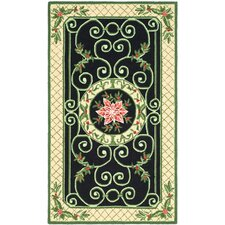 Chelsea Green/Beige Novelty Rug