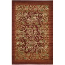 Lyndhurst Red/Multi Rug
