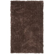 Shag Chocolate Rug