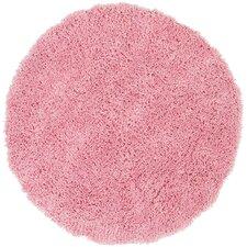 Shag Pink Area Rug