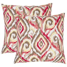 <strong>Safavieh</strong> Joyce Cotton Decorative Pillow (Set of 2)