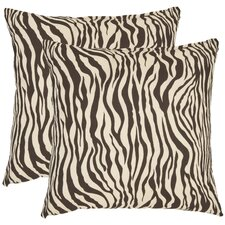 <strong>Safavieh</strong> Frederick Cotton Decorative Pillow (Set of 2)