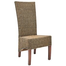 Charlotte Wicker Parson Chairs (Set of 2)