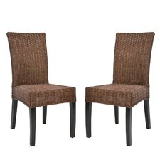 <strong>Safavieh</strong> Charlotte Parsons Chair (Set of 2)