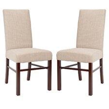 Classical Cotton Parson Chair (Set of 2)