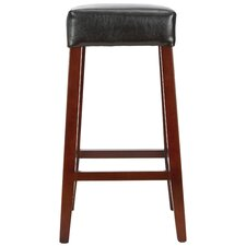 "<strong>Safavieh</strong> Isabella 30.3"" Bar Stool with Cushion"