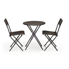 Bridgehampton 3 Piece Dining Set