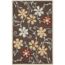Blossom Brown/Multi Rug