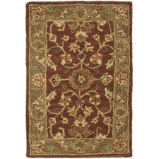 Golden Jaipur Rust/Green Rug