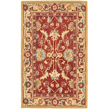 Chelsea Red / Ivory Area Rug