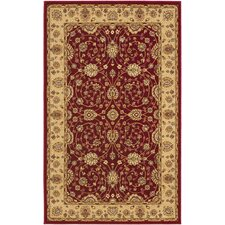 Majesty Red/Camel Rug