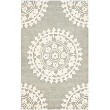 <strong>Safavieh</strong> Soho Light Grey/Ivory Rug