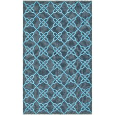 Thom Filicia Spray/Blue Outdoor Rug