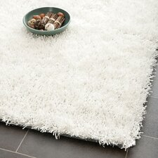 Paris Shag Off White Rug