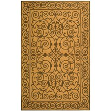 <strong>Safavieh</strong> Chelsea Yellow Iron Gate Rug