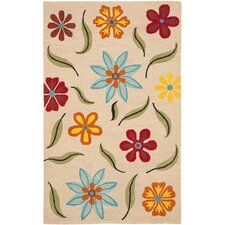 Blossom Beige/Multi Virgin Rug