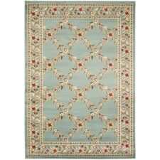 Lyndhurst Blue/Blue Checked Rug