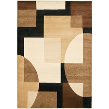 Porcello Brown/Multi Rug