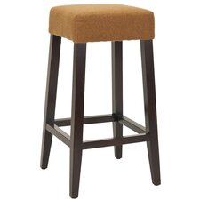 "<strong>Safavieh</strong> Harley 30"" Bar Stool with Cushion"