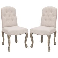 <strong>Safavieh</strong> Amber Side Chair (Set of 2)