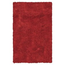 California Shag Red Rug
