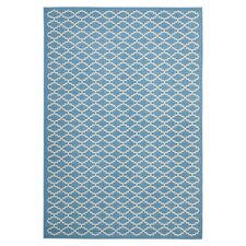 Courtyard Blue / Beige Outdoor Rug