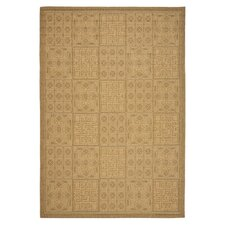 Courtyard Gold Outdoor Rug