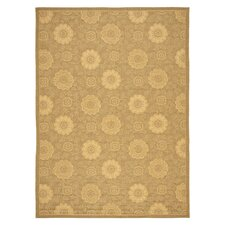 Courtyard Light Gold/Natural Outdoor Rug