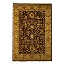 Old World Red/Light Gold Rug