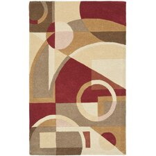 Rodeo Drive Beige/Brown Area Rug