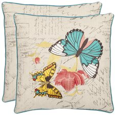 <strong>Safavieh</strong> Dan Cotton Decorative Pillow (Set of 2)