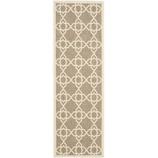 Courtyard Brown / Beige Outdoor Rug