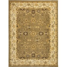 <strong>Safavieh</strong> Heirloom Green/Creme Rug