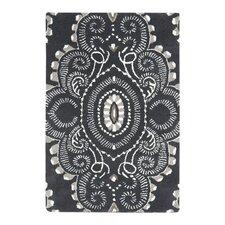 Wyndham Black/Gray Rug