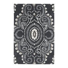 <strong>Safavieh</strong> Wyndham Dark Grey / Ivory Rug