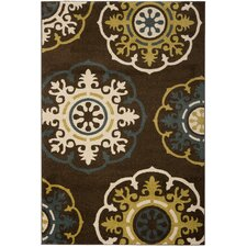 Newbury Brown / Green Rug