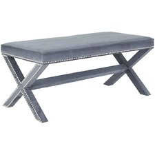 Nicole Nailhead X Entryway Bench