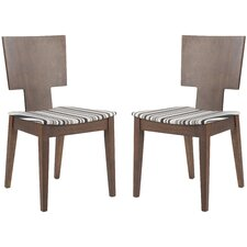 <strong>Safavieh</strong> Isaiah Side Chair (Set of 2)
