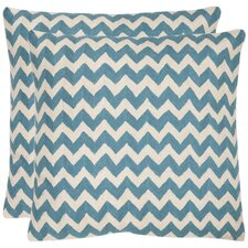 <strong>Safavieh</strong> Jace Cotton Decorative Pillow (Set of 2)
