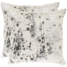 Oscar Frost Polyester Decorative Pillow (Set of 2)