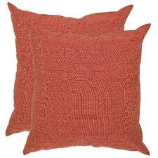 Valentina Polyester Decorative Pillow (Set of 2)