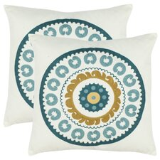 <strong>Safavieh</strong> Cotton Decorative Pillow (Set of 2)
