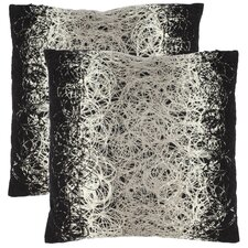 <strong>Safavieh</strong> Bennett Polyester Decorative Pillow (Set of 2)