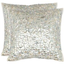 <strong>Safavieh</strong> Fiona Cotton Decorative Pillow (Set of 2)
