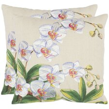 <strong>Safavieh</strong> Ruben Cotton Decorative Pillow (Set of 2)