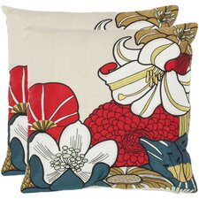 <strong>Safavieh</strong> Jett Cotton Decorative Pillow (Set of 2)