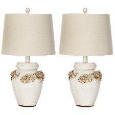"""Ceramic 24"""" H Table Lamp (Set of 2)"""